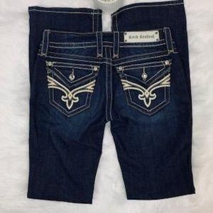 Rock Revival Jamie Boot Cut Dark Wash Jeans